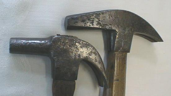 Farrier's Hammer Two Different Types Hammers