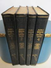 Audels Carpenters & Builders Guide Set 1923 First Ed.
