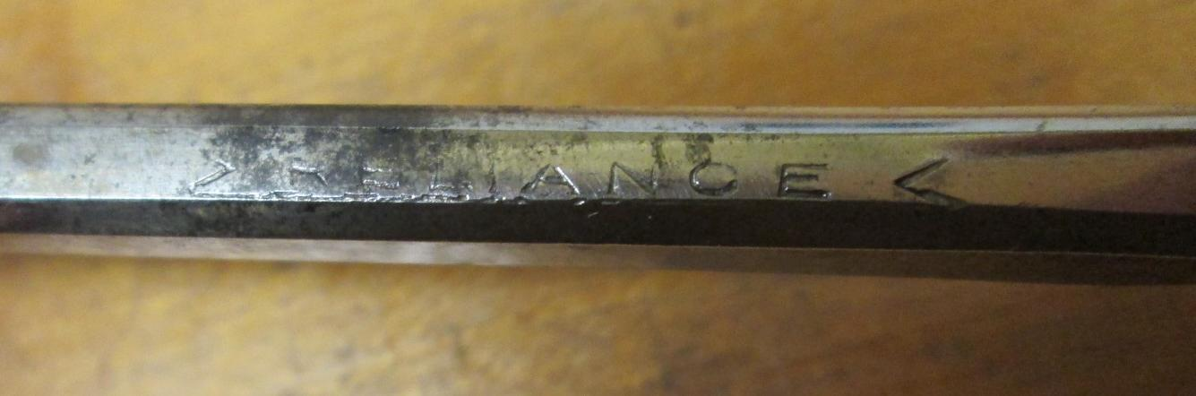 Reliance Socket Beveled Chisel 1/4 inch Youngstown Ohio