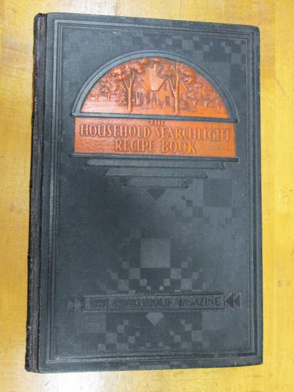 Household Searchlight Recipe Book 1934 Cookbook