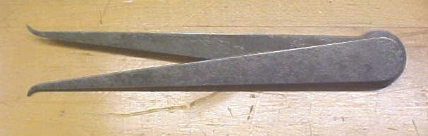 Starrett No. 39-8 Lock-Joint Inside Calipers Pat. 1885
