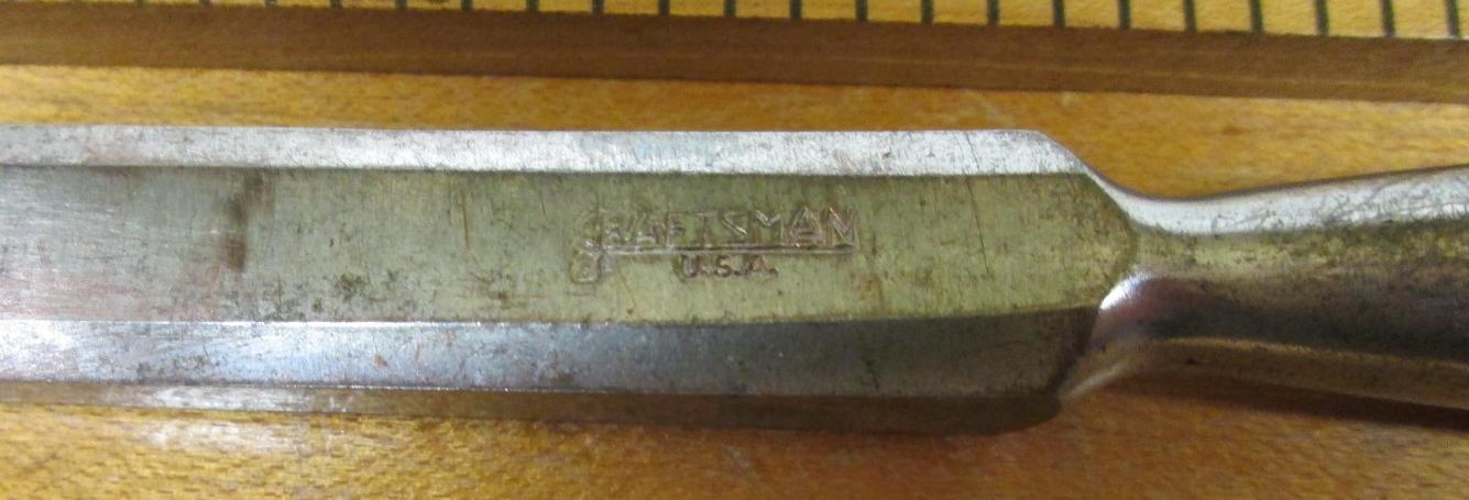Craftsman Socket Beveled Chisel .50 inch