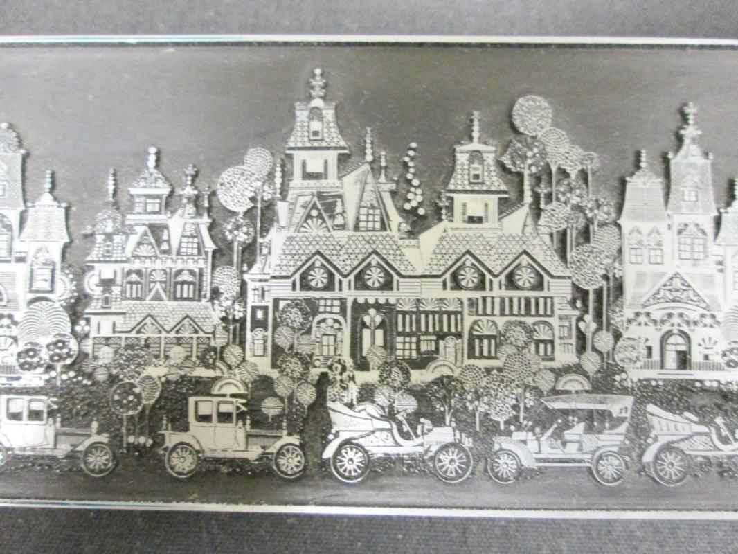 Roger Coast Victorian Mansions Engraving
