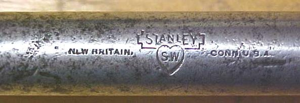 Stanley No. 12W Whimble Brace Fray Patent