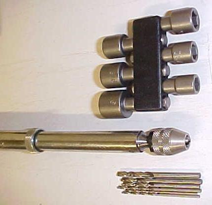 Yankee Push Drill w/ Drill Adapter & Ratchet Screwdriver Combo