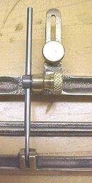 Bronze Jointer Fence Gauge Plane Attachment