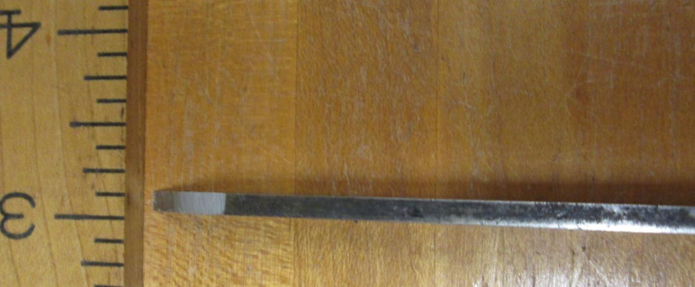Antique Socket Mortise Chisel 1/8 inch