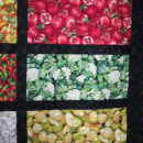 Quilt Vegetables Fruits To Market To Market 74 x 84