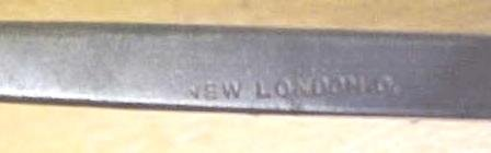 New London Bent Front Gouge Carving Chisel 5/8 inch