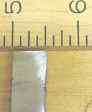 Marples & Sons Tanged Beveled Firmer Chisel 1/2 inch