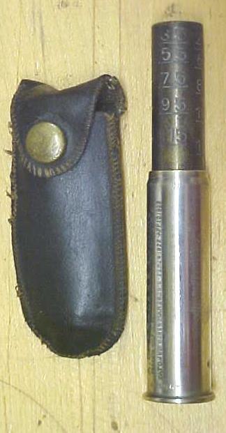 Schrader's Tire Pressure Gauge Patent 1923
