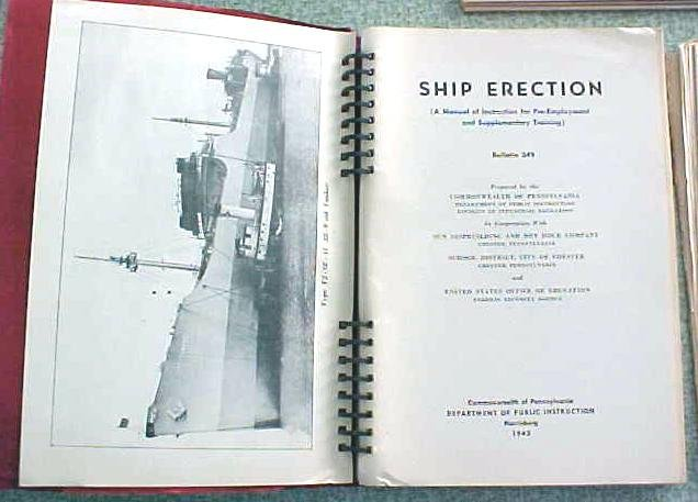Ship Erection Manual 1942 Ship Building