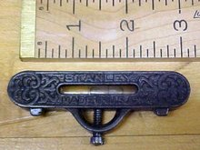 Stanley No. 40 Pocket Level Ornate Iron