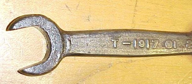 Ford Double Open End Wrench T1917