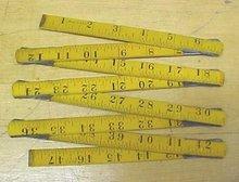 Stanley Victor No. 704 Zig Zag Folding Rule 4 foot
