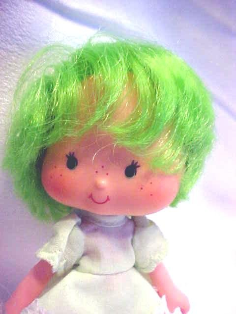 Strawberry Shortcake Lime Green + Nymph Doll