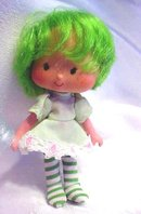 Strawberry Shortcake Lime Green + Nymph Doll