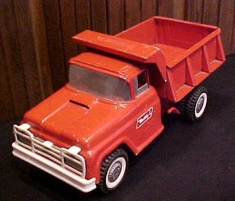 Buddy L 1960's Dump Truck Hydraulic Bed Lift