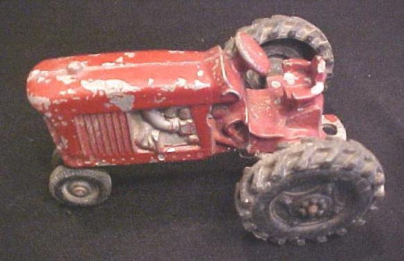 Vintage Die cast Toy Tractor