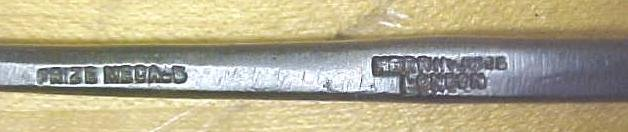 Herring Bros. Bent Front Parting Carving Chisel 1/4 inch