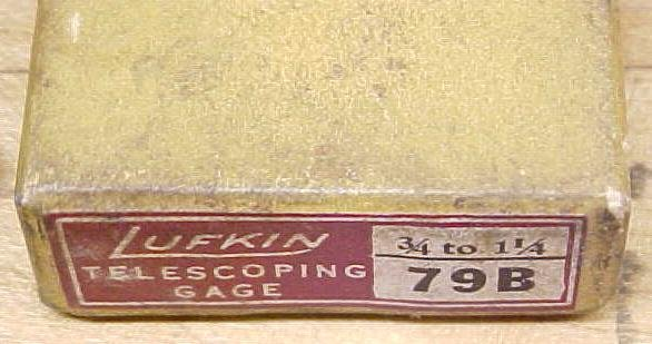 Lufkin No. 79 Telescoping Gage Set of 4