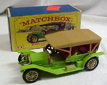 Matchbox 1912 Simplex No. Y-9 MIB