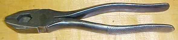 Utica No. 1950 Heavy Linemen's Cutter Pliers 8 inch