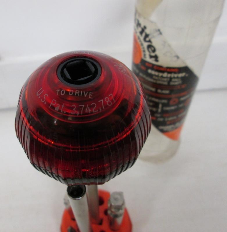 Easydriver Ratchet Screwdriver Set Vintage Ball Handle