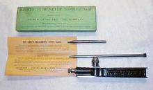 Hjorth Micrometer Depth Gauge in Box Rare!