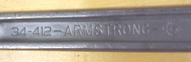 Armstrong  Wrench 12 inch No. 34-412 New Old Stock