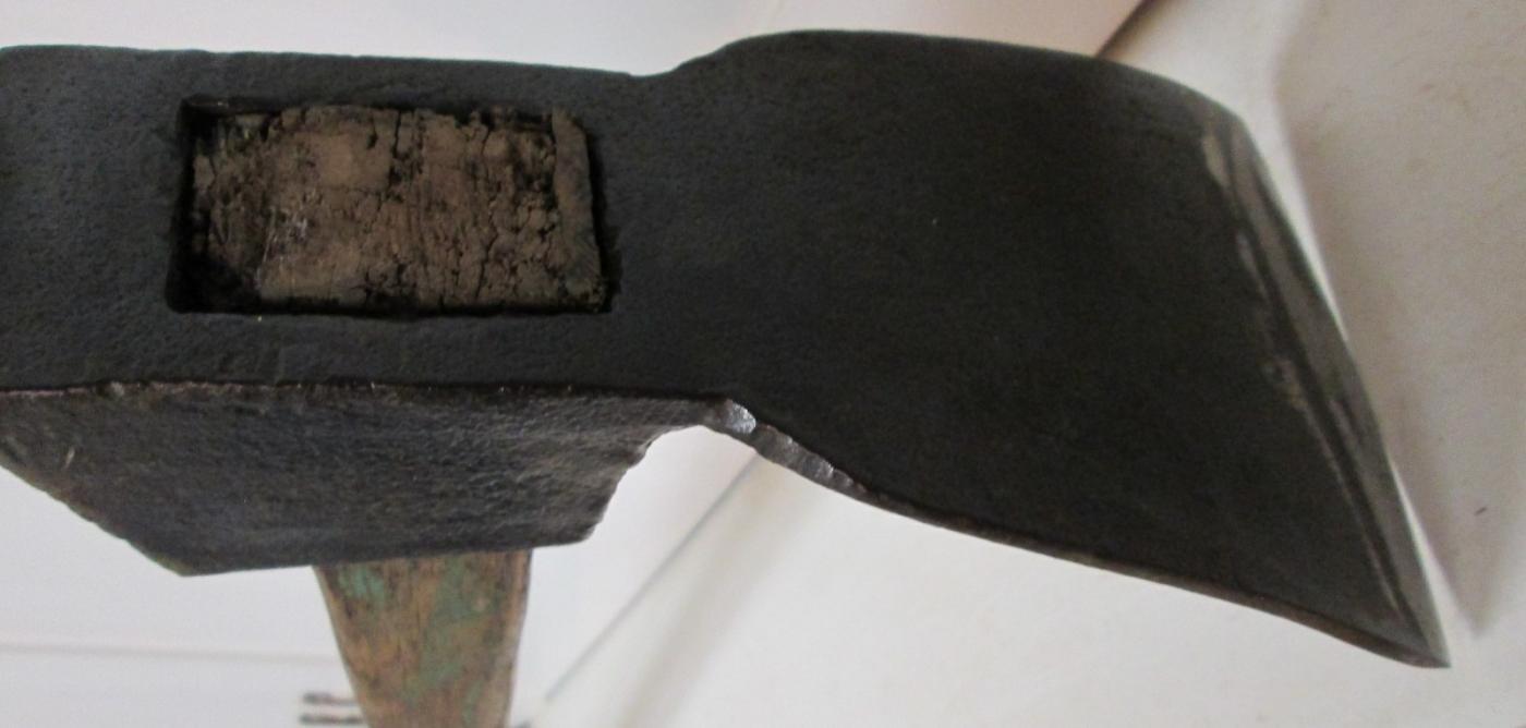 Carpenter's Foot Adze Antique
