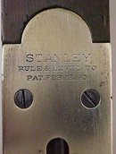 Stanley No. 17 Plumb & Level 2 foot