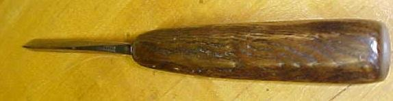 S.J. Addis Carving Chisel Parting 1/4 inch