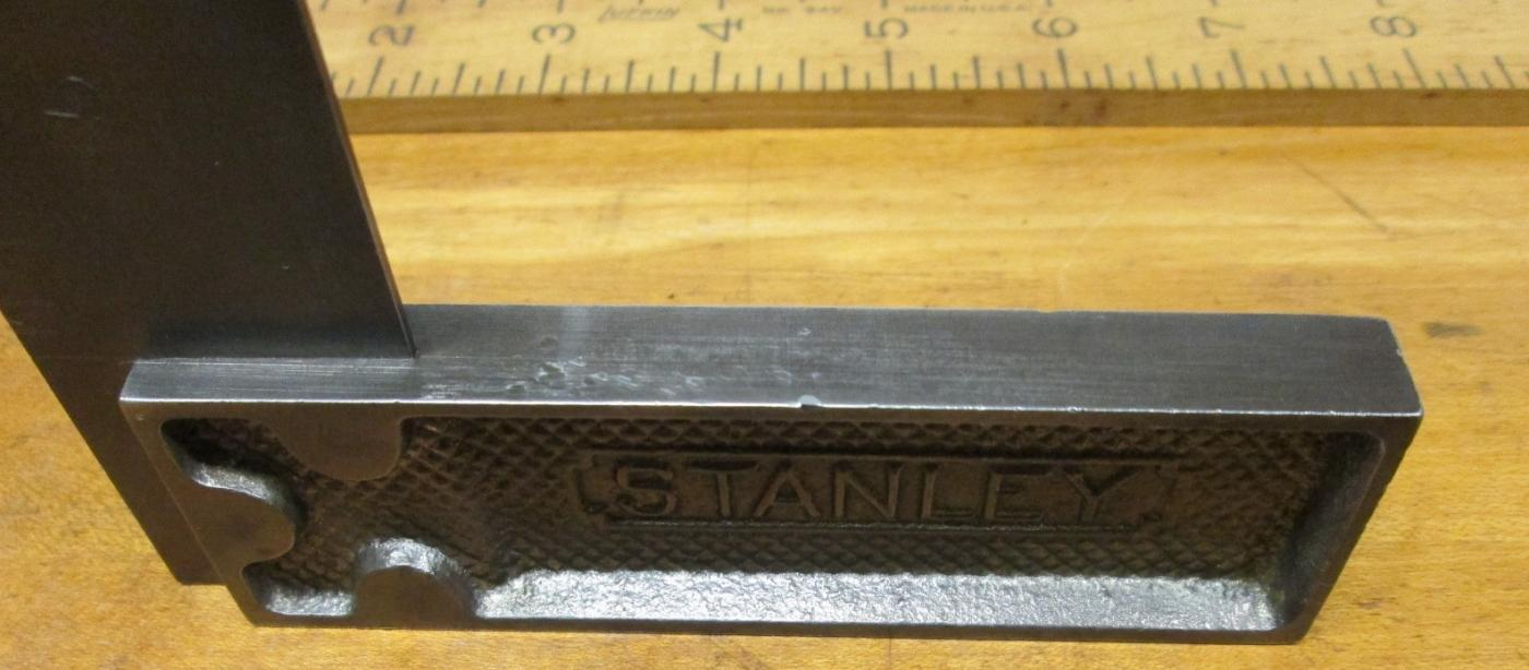 Stanley No. 12 Try Square Improved 6 Inch