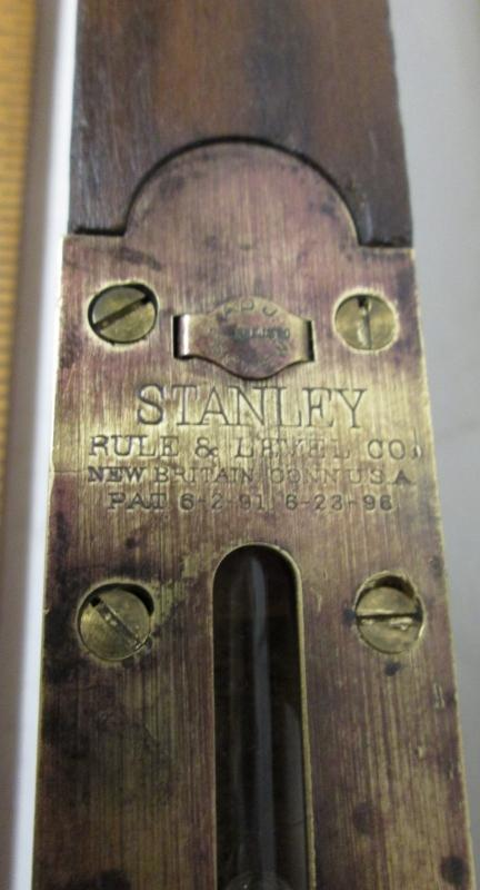 Stanley No. 16 Plumb & Level Adjustable Carpenters