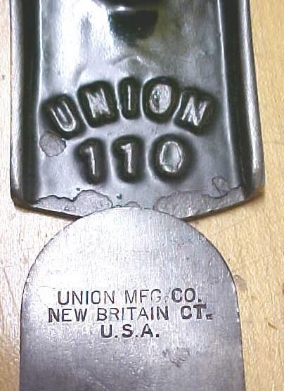 Union No. 110 Block Plane early 1900's