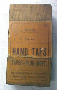 Greenfield Hand Taps + Box Tap Set