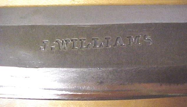 J. Williams Draw Knife 14 inch Ship Mast Work