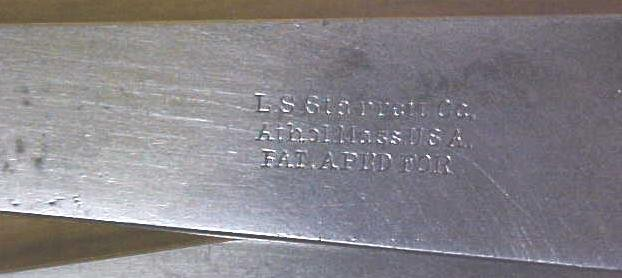 L.S. Starrett Inside Caliper Firm Joint Pre-1909 No. 35