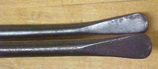 Acier 19th Century Curling Iron