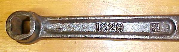 Quaker City Iron Works Wrench No. 1329 1/2 inch