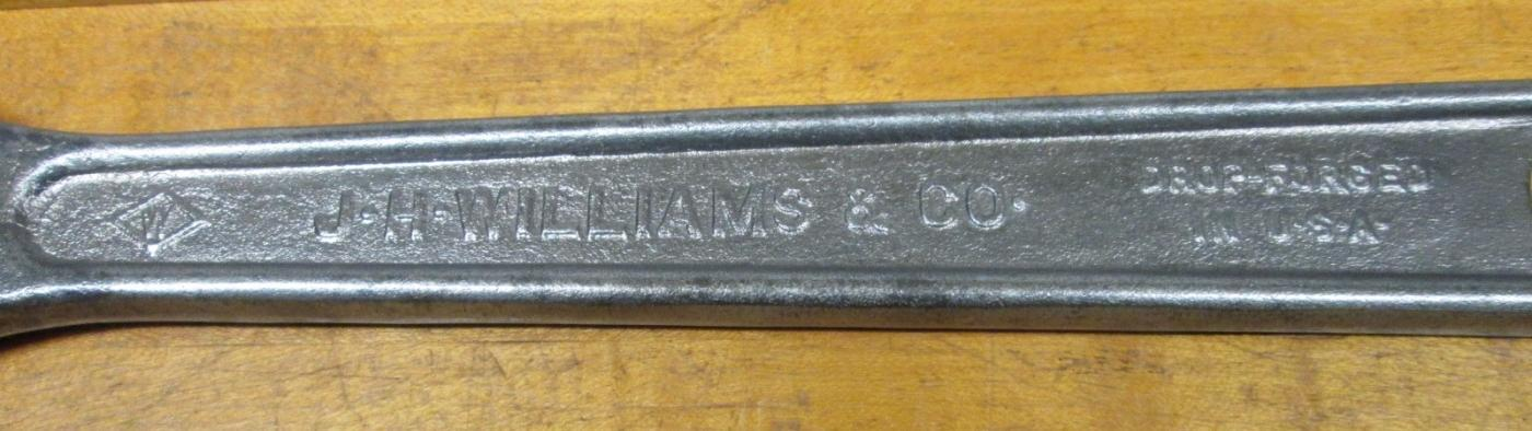 J.H. Williams Adjustable Wrench 12 inch
