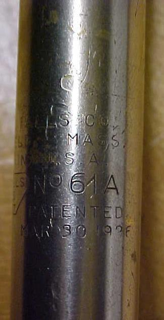 Millers Falls Yankee Ratchet Screwdriver 61A