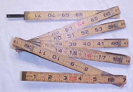 Lufkin X46 Zig-Zag Rule 6 Foot