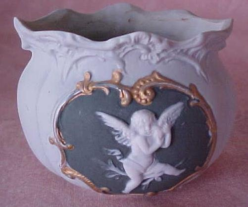 Wedgewood Bowl Matte Finish Ornate