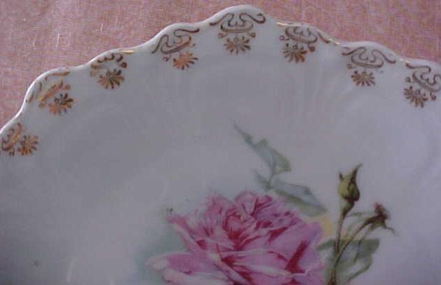 Bavaria Plate Floral 7 inch