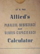 Allied's Parallel-Resistance and Series-Capacitance Calculator