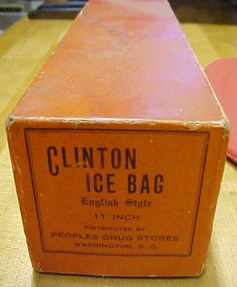 Clinton Ice Bag Rubber + Original Box