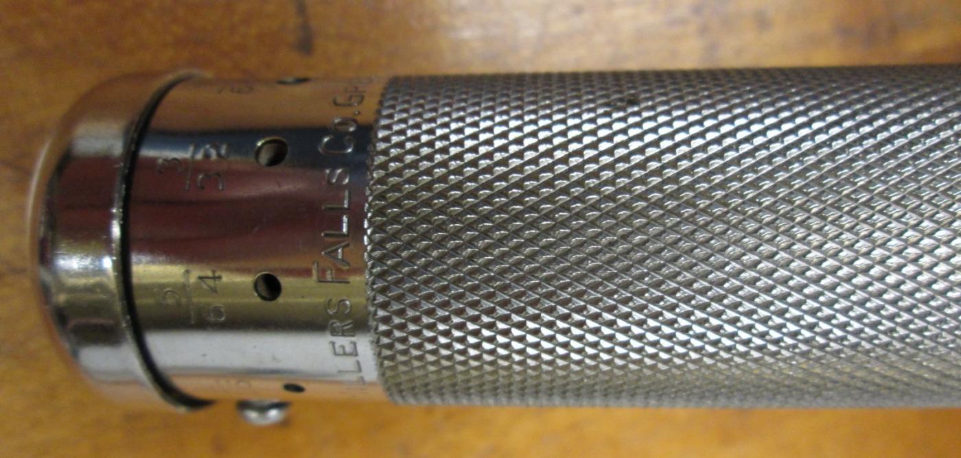 Millers Falls Push Drill No. 185A w/8 Drills Yankee