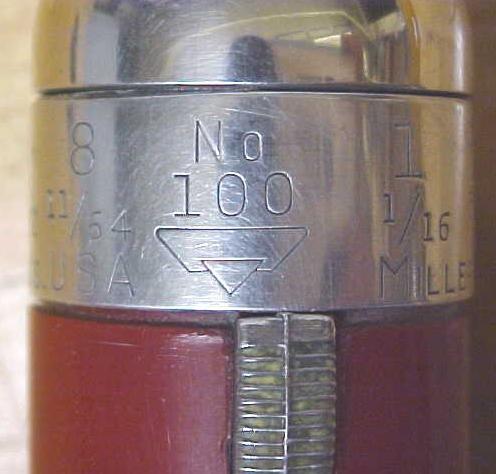 Millers Falls No. 100 Yankee Push Drill w/8 bits